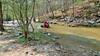 One of many creek crossings of Dry Creek
