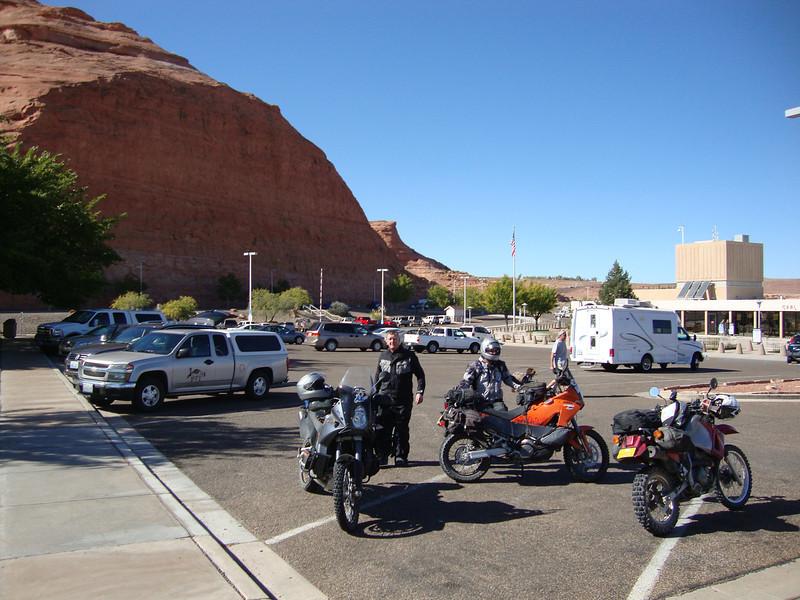 Glen Canyon Dam visitor area 2