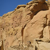 Cliff ruins at Chaco Canyon