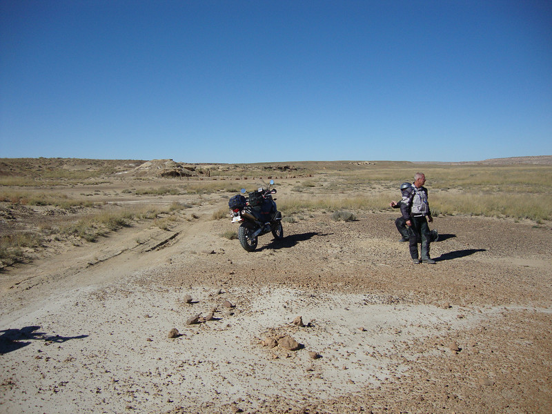 Primitive road west of Chaco Canyon 2