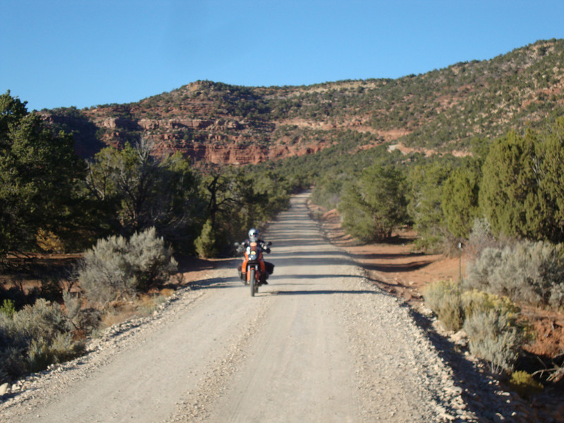Elk Mtn road