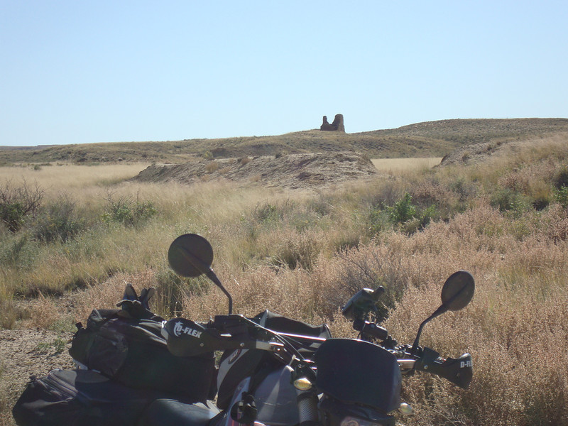 Kin Klizhin ruin on primitive road west of Chaco Canyon