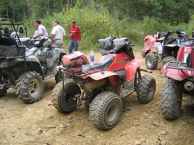 4-wheelin in West Virginia