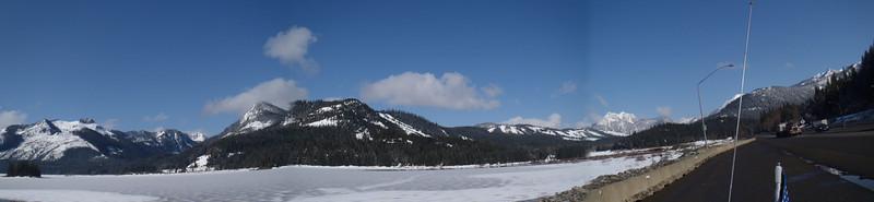 Lake Keechelus Panorama looking West