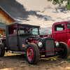 Hot Rod and Kustom showcase the beautiful buildings of Symco /Unionville