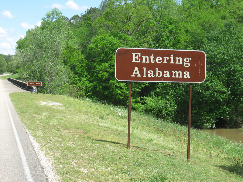 Along the Natchez Trace Parkway