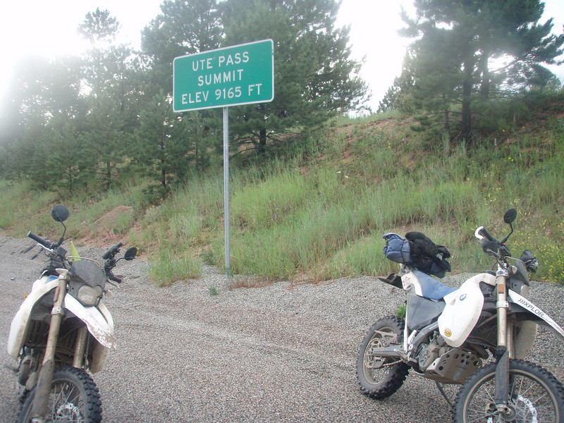 Ute Pass -- and just a few more miles to home!