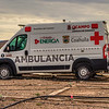 This Boquillas  (Bo-key-us) Ambulancia Promaster 2500 van is much like our Travato Ram Promaster 3500 van except a bit shorter.  The Ram Promaster, Mercedes-Benz Sprinter and Ford Transit are very popular Global Emergency Vehicles.  We picked the Ram over the Benz Sprinter because of Benz small dealer network and costly mantainence issues and past rust issues. We have the optional 5year/150,000 mile warranty. When the Ram drive train finally wears out it is not that hard to get a salvage yard 3.6-liter V6 Pentastar (280 hp and 260 lb-ft of torque) engine 6-speed automatic trans from a Jeep or Chrysler mini van for replacement. The Ford Transit would be equal or better than the Ram except the Ram has a much lower step in and also lower roof top for my 6'2' frame to stand-up in. Ram also has the best turning radius of the three vans. The Ram's week point is the hitch and tow capacities.