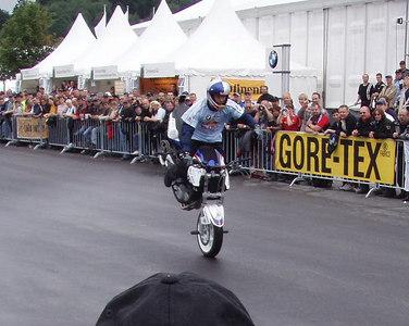 Stuntshow Chris Pfieffer