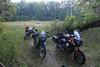 Bikes/tents at Old Cahawba