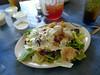 Shrimp salad at Dixie Landing