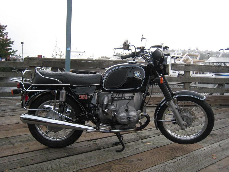 1976 BMW R90/6, #4972545, 22,808 original miles, unrestored original condition