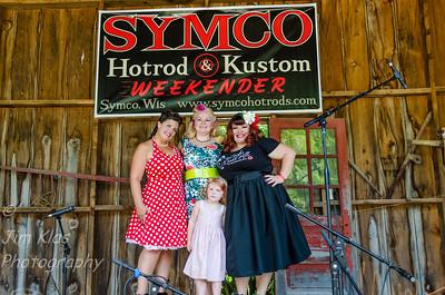 Symco Hot Rod and Kustom show Kelly & Dani