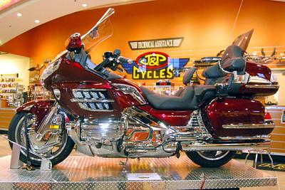 80: J&P Cycles' Honda Goldwing with Kuryakin Trim