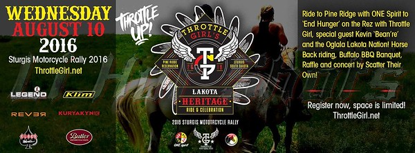 8/10/2016 Lakota Heritage Ride (*Note: All profits from the sale of these photos will go directly to ONE Spirit*)