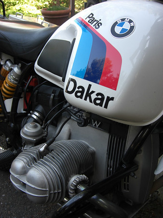 '86 BMW R80G/S Paris Dakar