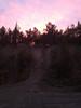 Big Murph at sunset.