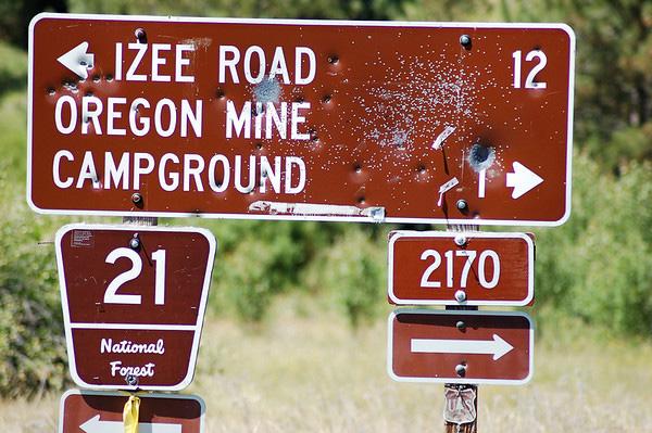 There are rednecks in Oregon also!