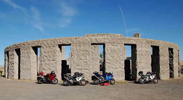 Washington has it's own version of Stonehenge at Mary Hill along the Columbia River