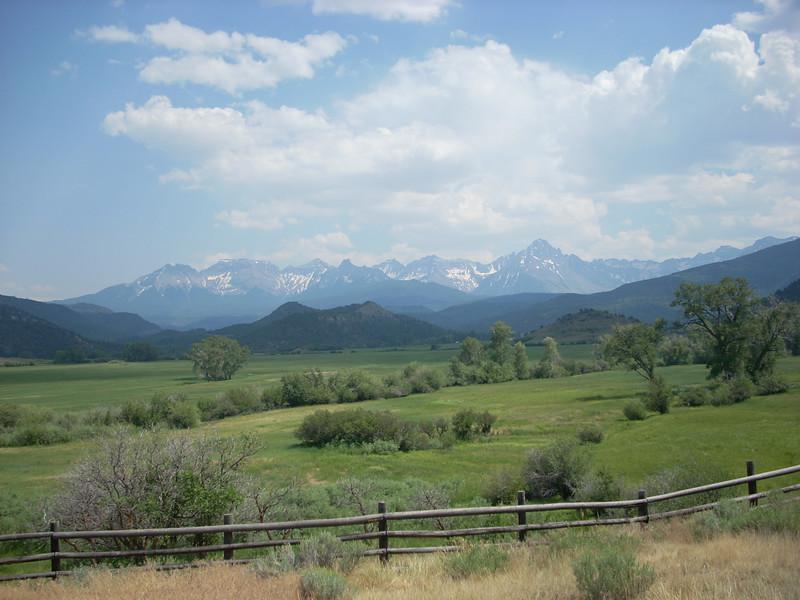 """The """"Colorado Alps"""" near Ouray CO"""