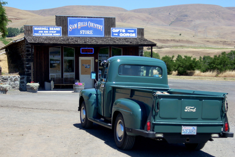 what in Sam Hill is a 53' flathead ford doing at Mary Hill?