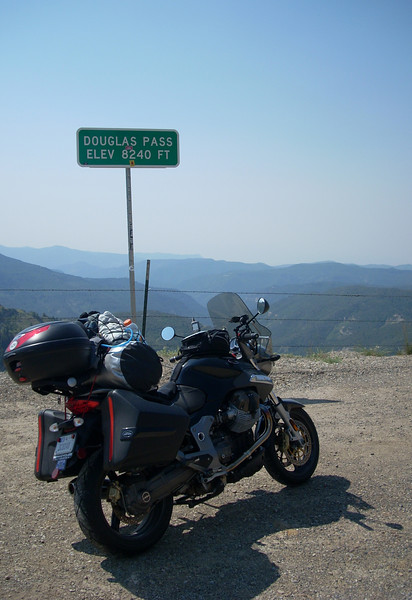 Douglas Pass along HWY 139 in Northwestern Colorado - a great ride up AND down!