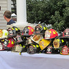 preparation for the blessing of the helmets