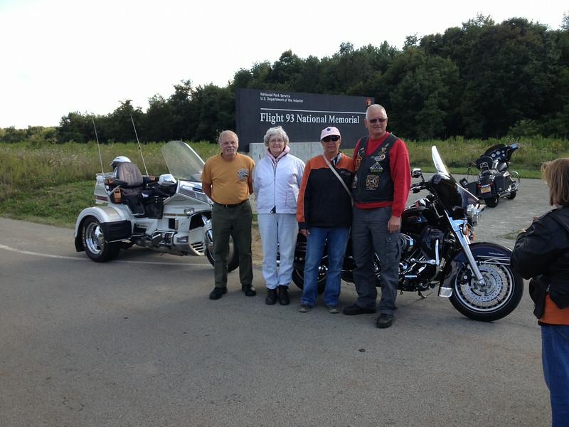 Pa. crash site<br /> Jerry, Sally, Sue and Bob