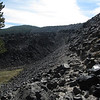 Obsidian flow in the Newberry Crater Nat. Mon.