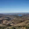 Otay Lakes. On the way up i passed several Border Patrol vehicles.
