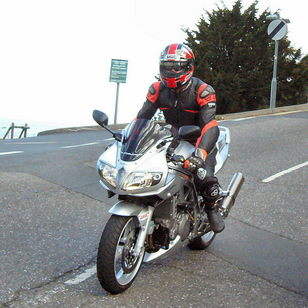Well here I am on my K3 SV1000 on one of many SV1000 owners rideouts. I still miss the SV1000 but do love my R1200GS :-)
