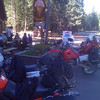 Ice Cream stop on Day 2 PM near Shady Cove, OR.