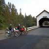Day 2 Afternoon at a covered bridge in Wimer OR.