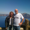 Donn and Deby at Crater Lake.