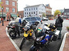 Parking on the square in Gettysburg while calling dirtygrunt to meet us for lunch.