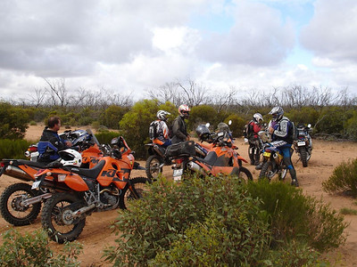 Vic Desert ride before Xmas 05