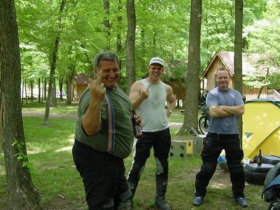 Steverino, Tribeless and Bart beam some love my way