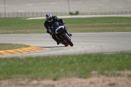 having fun at Texas World Speedway Trackday