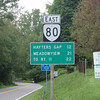 Route 80 is one of Virginia's best motorcycle roads.