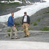 Hank and George at the Glacier.