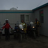 John, Mik, and Mack as we prepare to leave Prudhoe Bay/Deadhorse.