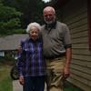 Me and Aunt Rita in Nashville, IN