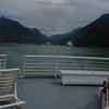 Pulling out of Skagway.