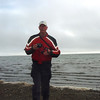 John at the Arctic Ocean (Beaufort Sea)