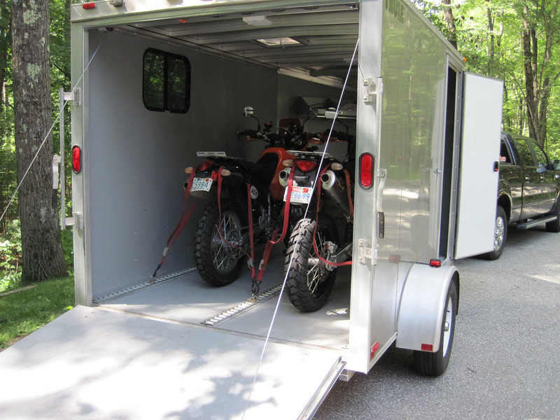 The Toy Hauler is loaded up and ready to head out!