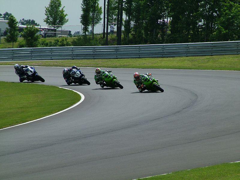 Supersport race leaders - line 'em up!