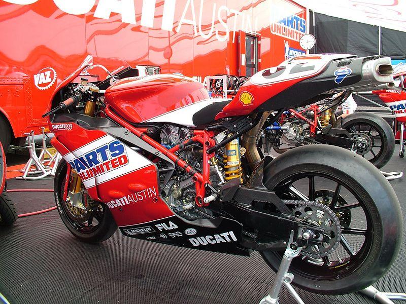 Eric Bostrom's Ducati 999.