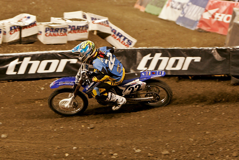 Chad Reed headed for 2nd after starting dead last