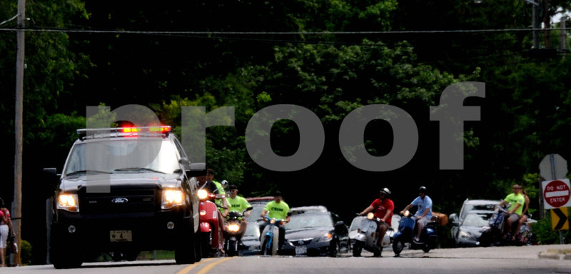 The beginning of the Scooter parade<br /> WMS PHOTOGRAPHY