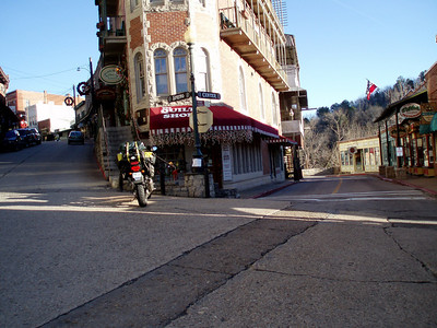 Tuesday, 12/30/08: Historic downtown Eureka Springs, AR